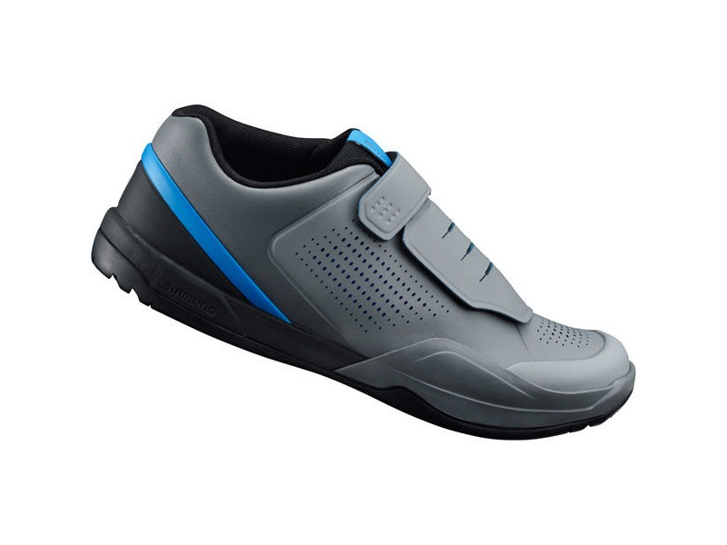 Shimano Trail / Leisure Shoe AM9 (AM901) SPD MTB shoes, grey/blue click to zoom image