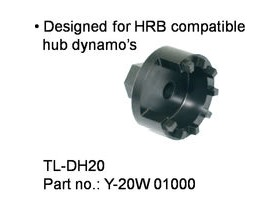 Shimano Workshop TL-DH20 Dynamo hub cap assembly tool