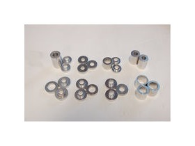 Wheels Manufacturing Rear Hub Drift Set 23 Pc For Use With The Consumer Bearing Press