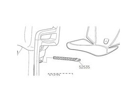 Thule RideAlong Length Adjustment Lever