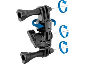 SP Gadgets Swivel Arm Mount For Gopro Cameras
