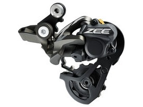 Shimano Zee RD-M640 ZEE 10-speed Shadow+ rear derailleur SS 23-28T top normal