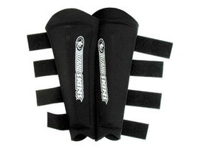 Lizard Skins Old School Neoprene Shin Guards Blk