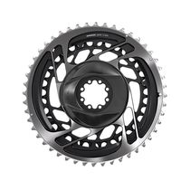 Sram Chain Ring Road Dm Kit Non-power Red Polar Grey 46-33t