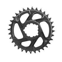 Sram Chain Ring X-sync 2 Direct Mount 3mm Offset Boost Cold Forged Aluminum Black