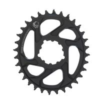 Sram Chain Ring X-sync 2 Oval 32t Direct Mount 3mm Offset Boost Alum Eagle Black 32t