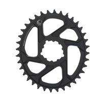 Sram Chain Ring X-sync 2 Oval 36t Direct Mount 6mm Offset Alum Eagle Black 36t