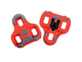 Look KEO Cleat with gripper 9 deg float Red