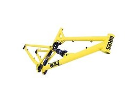 DMR Bolt Frame Long (inc shock) Tapered Matte Yellow