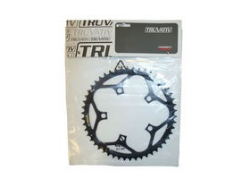Truvativ Chainring Road 50t 5 Bolt 110mm BCD Double Steel Matte Black (50-36)
