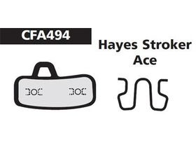 EBC Hayes Stroker Ace Gold Disc Brake Pad
