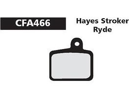 EBC Hayes Stroker Ride Red Disc Brake Pad