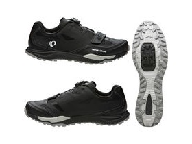 Pearl Izumi X-Alp Launch II Black/Shadow Grey 41.0