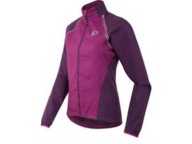 Pearl Izumi Women's, Elite Barrier Convertible Jacket, Purple Wine/Wineberry