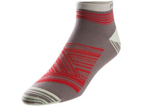 Pearl Izumi Women's, Elite Low Sock, Mist Green Hatch