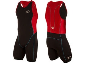 Pearl Izumi Men's, Elite Pursuit Tri Suit, Black/True Red