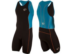 Pearl Izumi Men's, Elite Pursuit Tri Suit, Black / Bel Air Blue