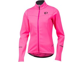 Pearl Izumi Women's SELECT Escape Softshell Jacket Screaming Pink