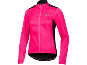 Pearl Izumi Women's, ELITE Pursuit Hybrid Jacket, Screaming Pink/Black