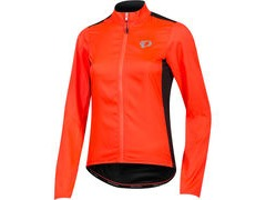 Pearl Izumi Women's, ELITE Pursuit Hybrid Jacket, Fiery Coral/Black