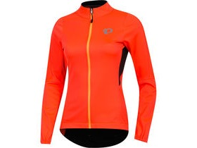 Pearl Izumi Women's, ELITE Pursuit AmFIB Jacket, Firey Coral/Black