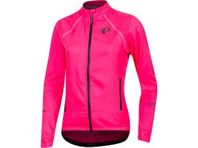 Pearl Izumi Women's, ELITE Escape Convertible Jacket, Screaming Pink