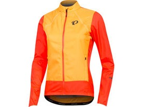 Pearl Izumi Women's, ELITE Escape Convertible Jacket, Orange Pop/Fiery Coral