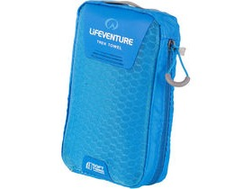 Lifeventure SoftFibre Trek Towel Large Blue