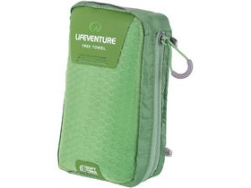 Lifeventure SoftFibre Trek Towel Large Green