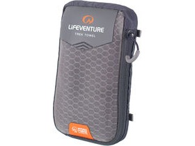 Lifeventure HydroFibre Trek Towel Large Grey