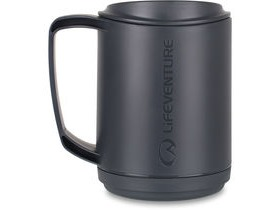 Lifeventure Ellipse Insulated Mug Graphite