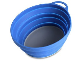 Lifeventure Silicone Ellipse Bowl Blue