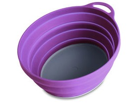 Lifeventure Silicone Ellipse Bowl Purple