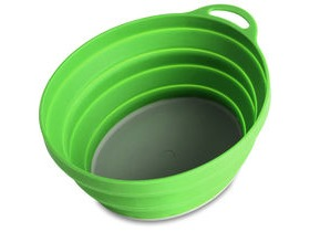 Lifeventure Silicone Ellipse Bowl Green