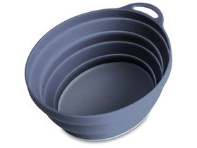 Lifeventure Silicone Ellipse Bowl Graphite