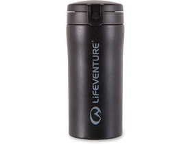 Lifeventure Flip-Top Thermal Mug Black