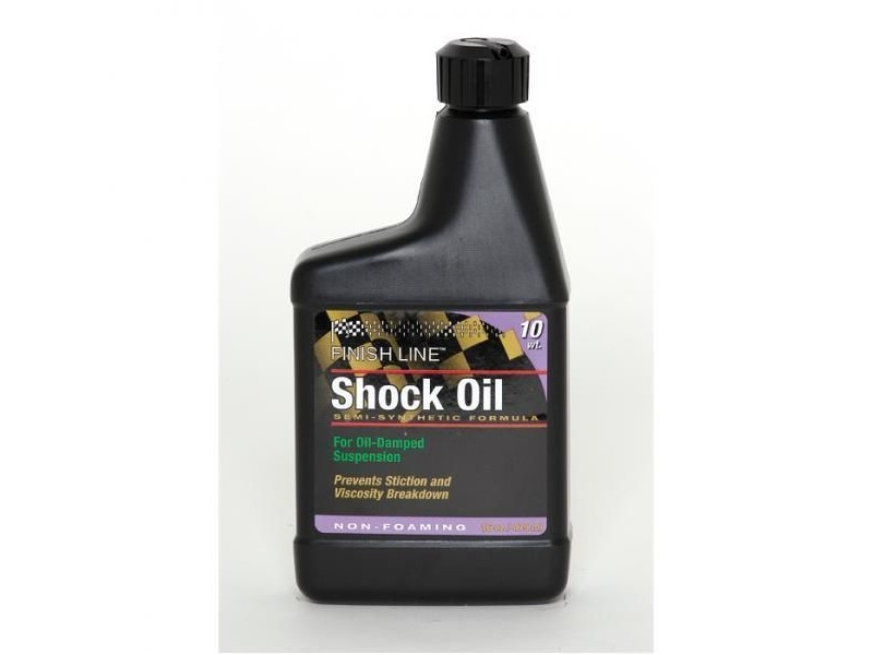 Finish Line Shock Oil 10 wt 16 oz / 475 ml click to zoom image