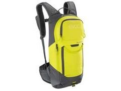 Evoc Fr Lite Race Protector Back Pack Carbon S CARBON GREY/SULPHUR  click to zoom image