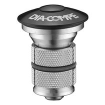 Dia-Compe Expander Bolt and Top Cap Black 22-24mm