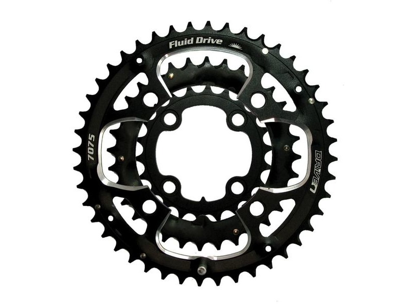 Driven CRMXO Chainrings Black 32T click to zoom image