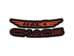 Halo Chaos Decal Kit  Orange  click to zoom image