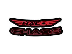 Halo Chaos Decal Kit  Red  click to zoom image