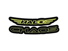 Halo Chaos Decal Kit  Yellow  click to zoom image