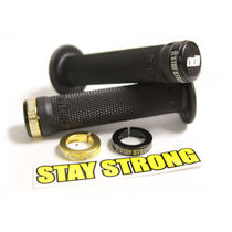 Odi Stay Strong BMX Lock On 143mm - Black