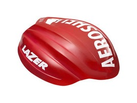 Lazer Z1 Aeroshell red / white
