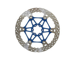 Hope MV2 Floating Disc - 203mm 6 Bolt Blue