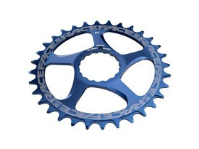 RaceFace Direct Mount Narrow/Wide Single Chainring Blue