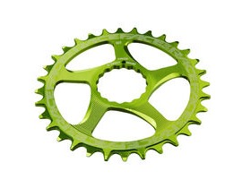 RaceFace Direct Mount Narrow/Wide Single Chainring Green