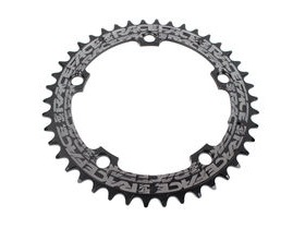 RaceFace Narrow/Wide Single Chainring Black 130x44T