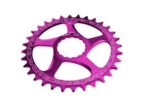 RaceFace Direct Mount Narrow/Wide Single Chainring Purple